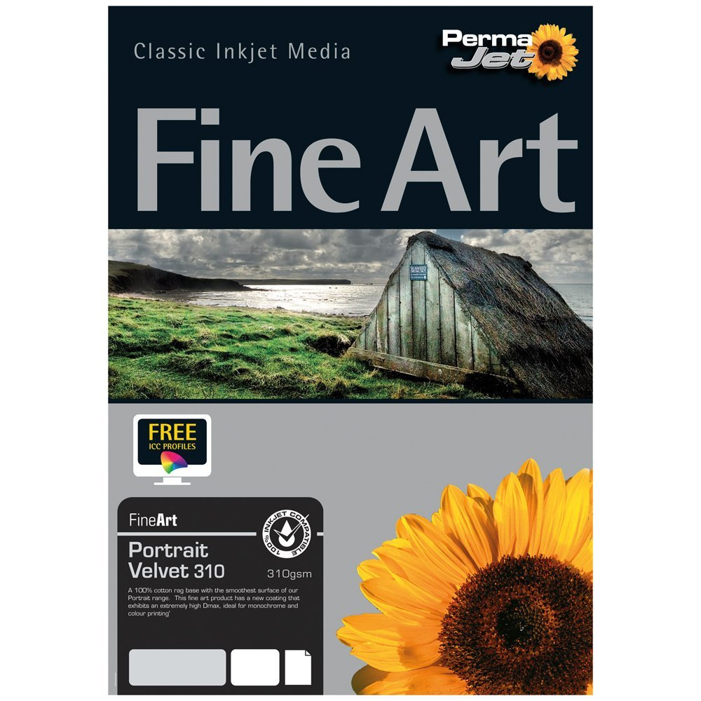 25 Sheets PermaJet Photo Lustre 310 A3 Photo Paper