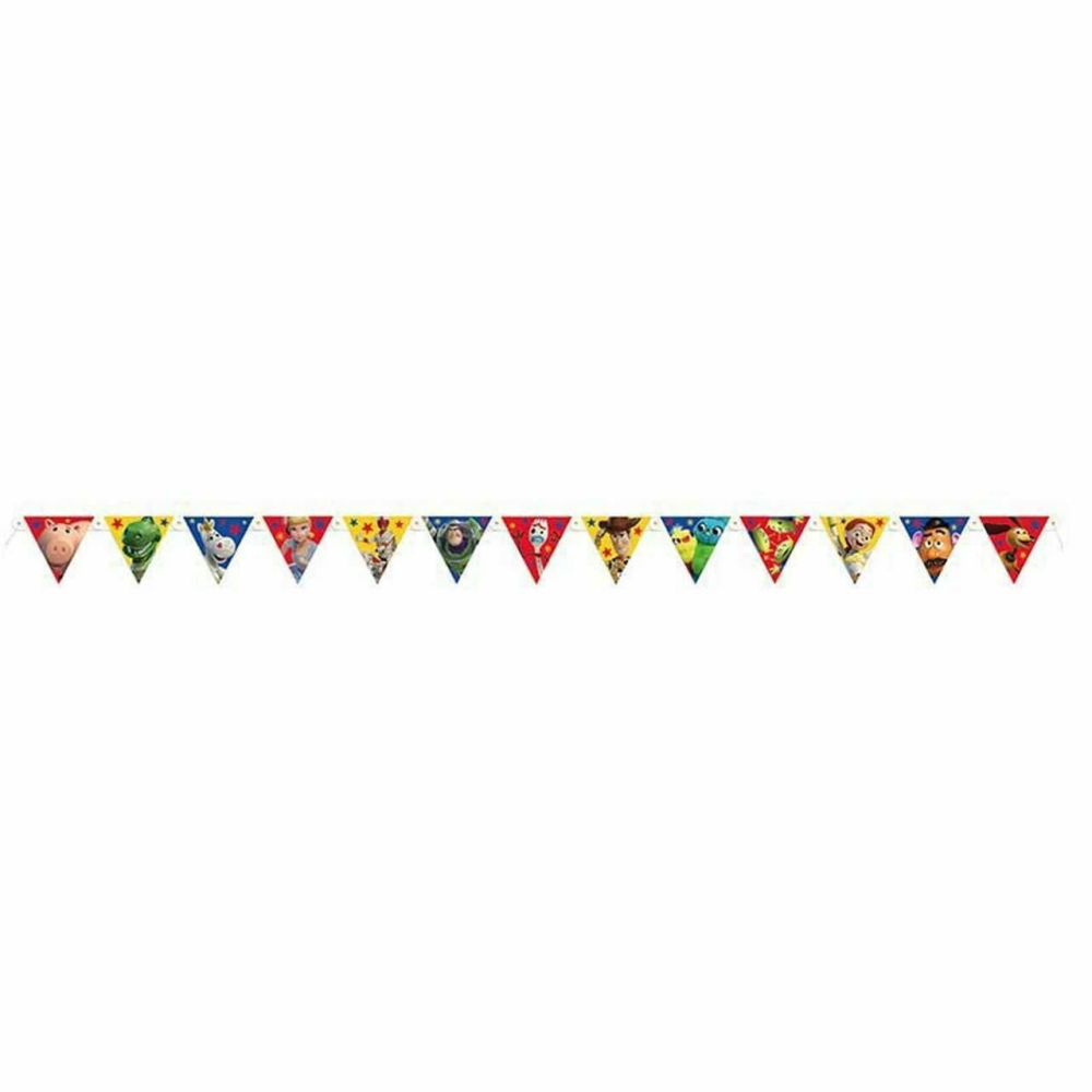 PERSONALISED TOY STORY BANNER CAKE SMASH PARTY BUNTING ANY SINGLE NAME