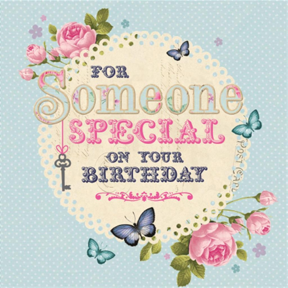 Hallmark For Someone Special Birthday Card With