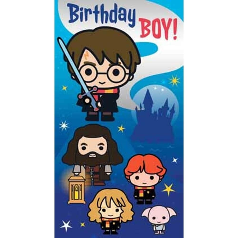 Hallmark Harry Potter Magique Carte D/'Anniversaire