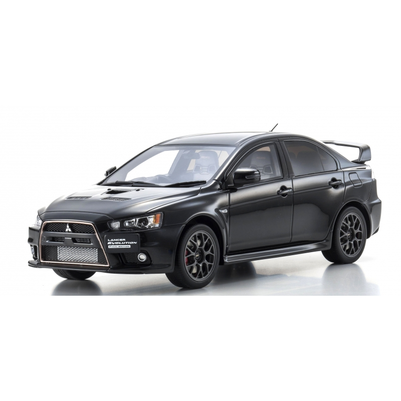 Mitsubishi Lancer Evolution X: Mitsubishi Lancer Evolution X Final Edition Black Kyosho