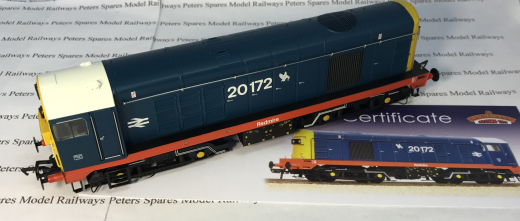 Bachmann 32-035K Class 20 BR Blue Redmire 20172 Collectors Club OO Gauge