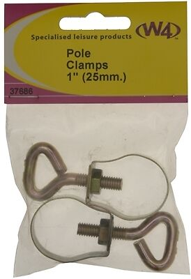 "W4 Awning Pole Clamps 1"" (25mm) 37686"